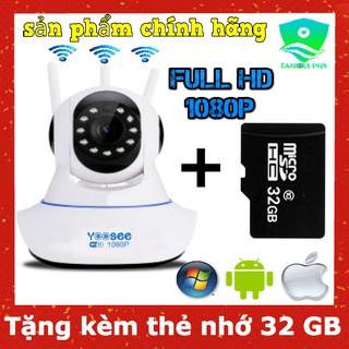 Camera Yoosee 3 râu 2.0 – Full HD 1080P kèm thẻ nhớ 32GB