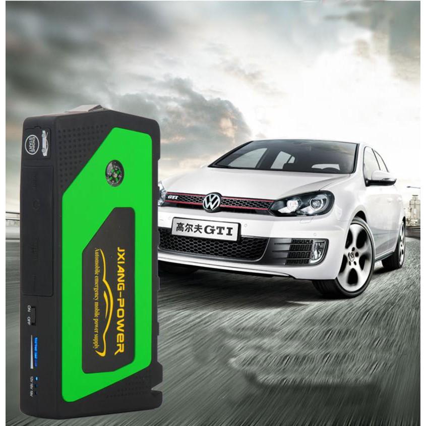 Kích bình ô tô kiêm sạc đa năng cho thiết bị di động (xanh lá)... Hàng mới nà