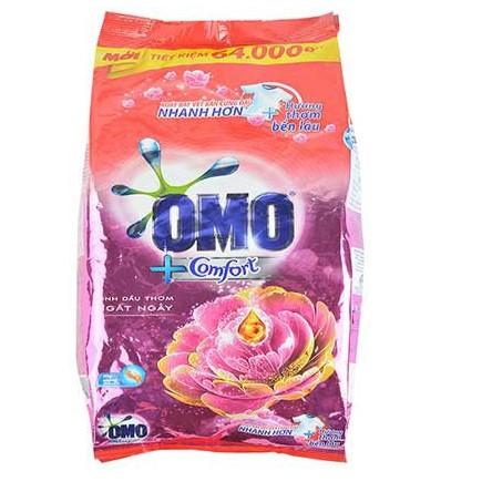 Bột Giặt OMO Hương Comfort tinh dầu thơm ngất ngây 4.1kg- Chính Hãng