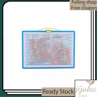 Jijaka Kids Early Learning Educational Toys 296Pcs Creative Mushroom Nails Jigsaw Puzzle – intl