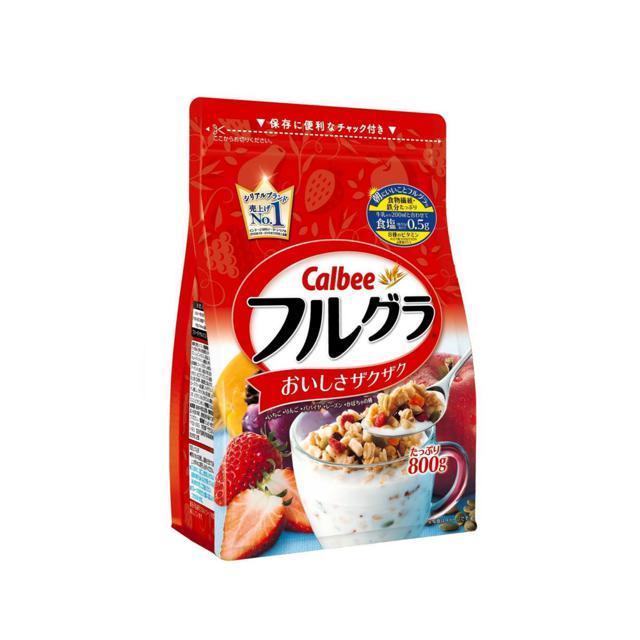 Bột ngũ cốc giảm cân Nhật Bản Calbee có 6 vị date: 31/08/2018