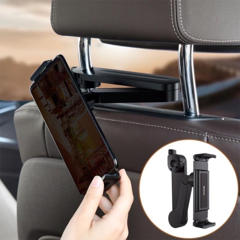 Giá đỡ, Kẹp điện thoại iPad sau ghế ô tô xe hơi hiệu Baseus chính hãng