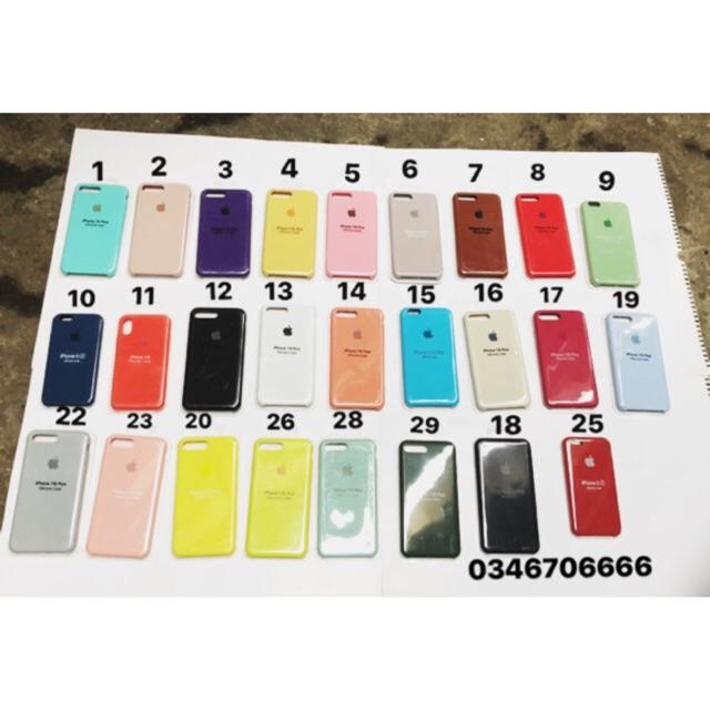 ( 36 màu) Ốp Iphone nhiều màu chống bẩn