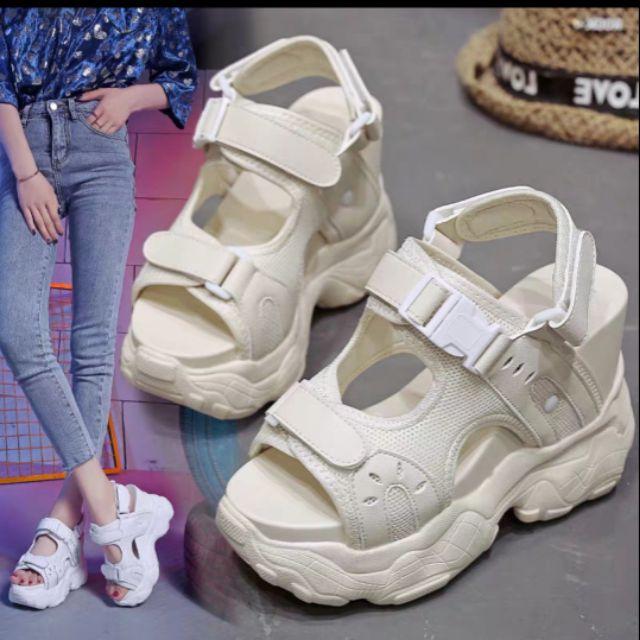 Giày Sandals nữ đế cao