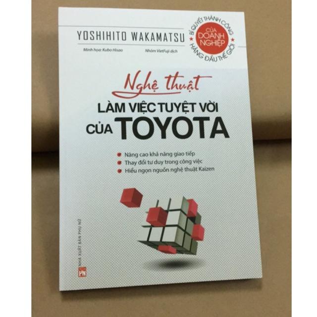 Sách - Nghệ Thuật Làm Việc Tuyệt Vời Của Toyota - 9786045637944