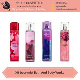 Xịt thơm body mist Bath And Body Works thumbnail