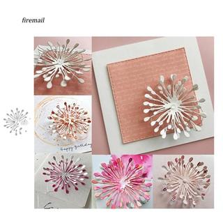 Khuôn cắt giấy kim loại hình hoa xinh xắn thumbnail