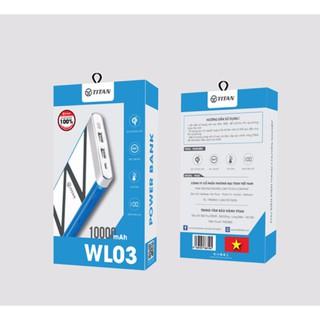 Pin dự phòng 10.000mAh hỗ trợ sạc không dây - CHÍNH HÃNG MỚI 100% thumbnail