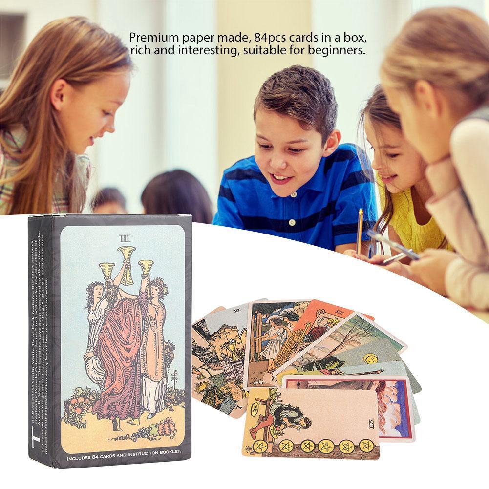 84pcs Tarot Cards Deck Card Game English Version Card Game