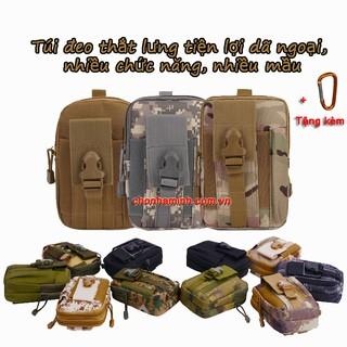 Túi đeo thắt lưng tiên lợi dã ngoại, nhiều ngăn + khuyễn mãi móc đeo
