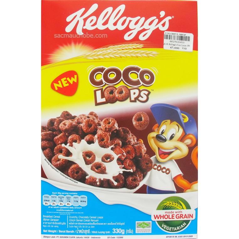 Ngũ cốc Thái Lan Kelloggs Coco loops 330g