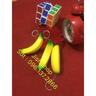 Squishy trái chuối làm móc khóa mã sản phẩm QR6344