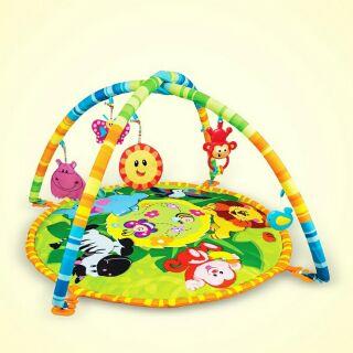 Bộ thảm nằm chơi Winfun cho bé