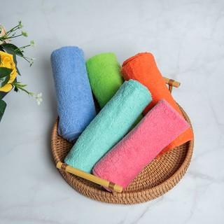 Khăn mặt cotton cao cấp,khăn cotton trơn nhiều màu sắc phong cách hàn quốc 2021-Nam Đô-20436 thumbnail