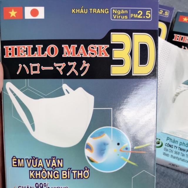 Khẩu trang y tế 3D Mask 4 lớp