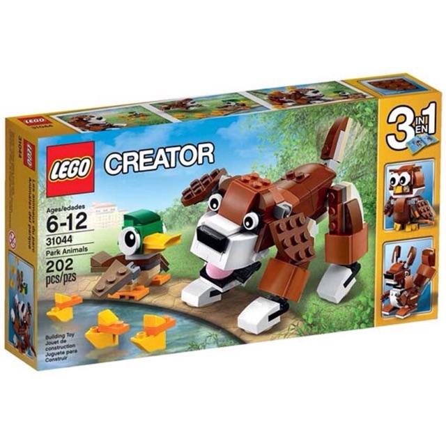 Lego creator 3in1 31044(công viên động vật)
