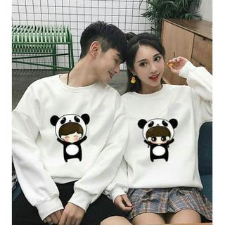 áo đôi hình gấu tình yêu