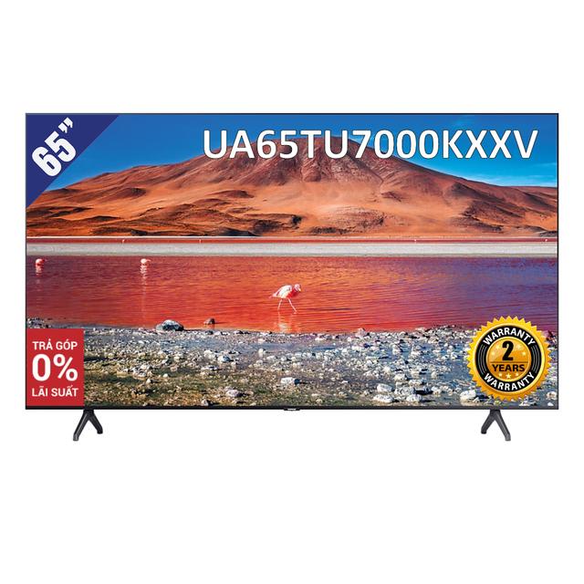 [Giao hàng tại TP.HCM] Smart Tivi 4K UHD Samsung 65 inch UA65TU7000KXXV