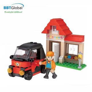 Bộ đồ chơi xếp hình kỹ sư công trình an toàn chính hãng BBT Global CGBX4115 thumbnail