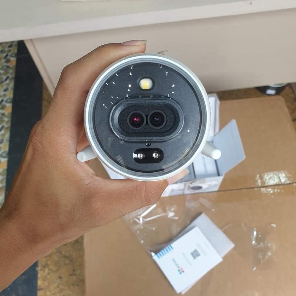 Camera IP WIFI 2M Ngoài Trời AI Thông Minh EZVIZ C3N C3X (1080P) Màu Ban Đêm CHÍNH HÃNG - BH 24TH C3W HIKVISION