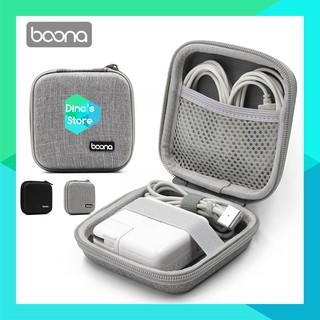 Hộp đựng phụ kiện, cáp sạc Macbook và túi đựng phụ kiện điện tử Boona chống sốc chống nước - Boona F017 thumbnail