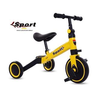 Xe thăng bằng – xe đạp 3 bánh đa năng cho bé. Xe thăng bằng có bàn đạp kết hợp xe chòi chân Sport