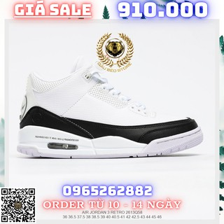 Giày Outlet Sneaker _Fragment Design x Air Jordan 3 AJ3 MSP PHONG CÁCH ORDER + FREESHIP gaubeostore.shop thumbnail