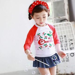 [Có sẵn, Ảnh thật] Đồ bới bé gái 2 mảnh áo dài tay B101 thumbnail