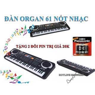 Bộ đàn Piano MQ 6106 – 61 phím có Micro dành cho trẻ em TẶNG 2 ĐÔI PIN TRỊ GIÁ 20K