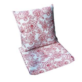 Bộ 1 đệm ngồi + 1 gối trang trí JYSK Kute vải polyester họa tiết thumbnail