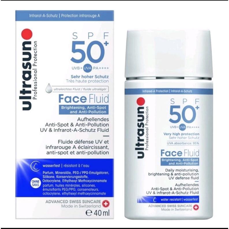 kem chống nắng Ultrasun xanh dương, Ultrasun Face Fluid 40ml