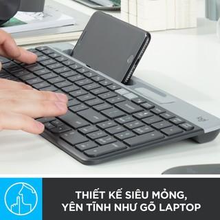Bàn Phím Bluetooth Logitech K580 Slim Multi Device - Bàn Phím Không Dây Chính Hãng Bảo Hành 1 Năm thumbnail