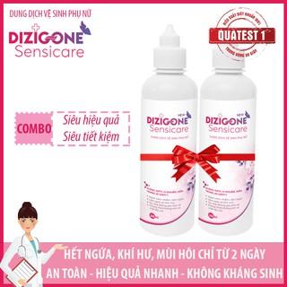 [Tiết kiệm] COMBO 2 Dung dịch vệ sinh phụ nữ DIZIGONE Sensicare - Hết ngứa chỉ từ 2 ngày thumbnail