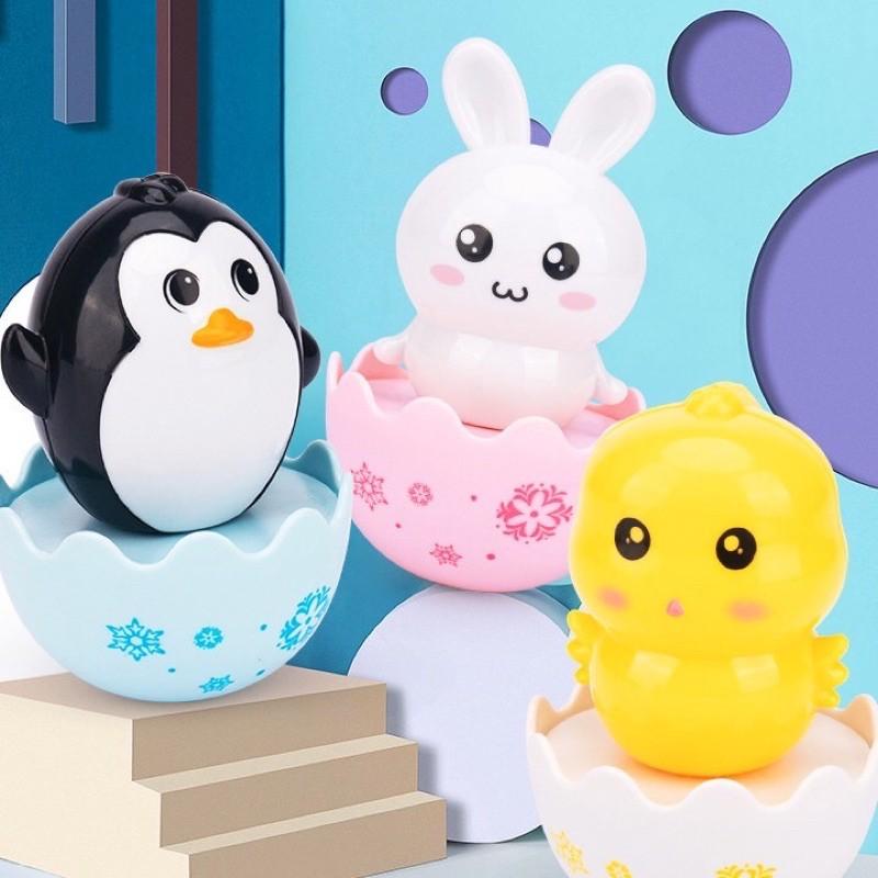 [GIFT] Đồ chơi trứng lật đật dễ thương cho bé