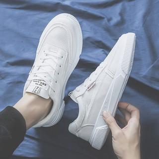 Giày Sneaker Nam Trắng Lịch lãm Siêu Nhẹ Siêu Thoáng - G10