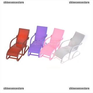 (shinesense)Beach Chair For 1/6 Doll Barbie Furniture Accessories Children Gifts