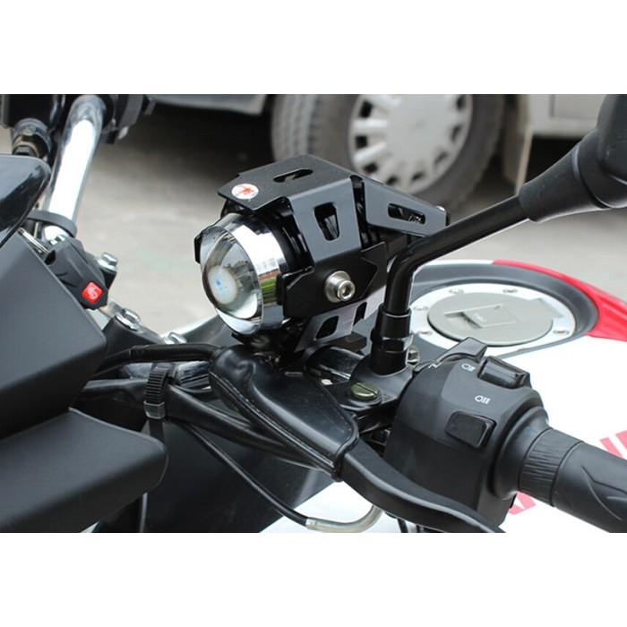 [Tặng phụ kiện] Đèn trợ sáng cho xe máy có 1 bóng led lớn U5 - 3059643 , 313163210 , 322_313163210 , 300000 , Tang-phu-kien-Den-tro-sang-cho-xe-may-co-1-bong-led-lon-U5-322_313163210 , shopee.vn , [Tặng phụ kiện] Đèn trợ sáng cho xe máy có 1 bóng led lớn U5