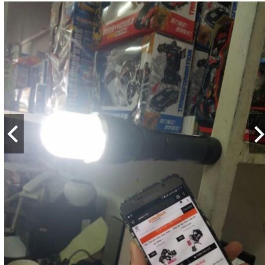 Đèn pin siêu sáng HUOYI HY-901 đa năng+1 pin sạc+1 cục sạc - 2775182 , 201617808 , 322_201617808 , 149000 , Den-pin-sieu-sang-HUOYI-HY-901-da-nang1-pin-sac1-cuc-sac-322_201617808 , shopee.vn , Đèn pin siêu sáng HUOYI HY-901 đa năng+1 pin sạc+1 cục sạc