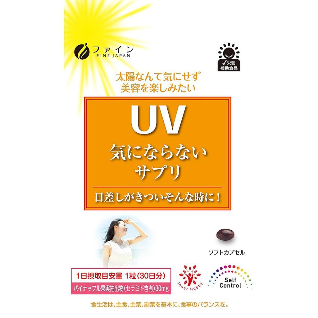 [Có sẵn bill mua ngày 04/06/2018] Viên uống chống nắng fine made in Japan - Xách tay Nhật - Túi 30 v - 2914121 , 1033394148 , 322_1033394148 , 330000 , Co-san-bill-mua-ngay-04-06-2018-Vien-uong-chong-nang-fine-made-in-Japan-Xach-tay-Nhat-Tui-30-v-322_1033394148 , shopee.vn , [Có sẵn bill mua ngày 04/06/2018] Viên uống chống nắng fine made in Japan - X
