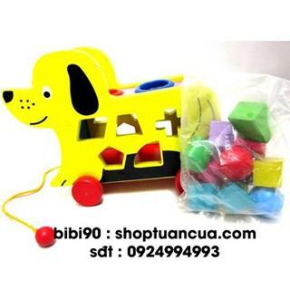 [GIÁ TỐT] Xe đồ chơi kéo xe con chó thả hình thông minh cho bé 154 loại tốt