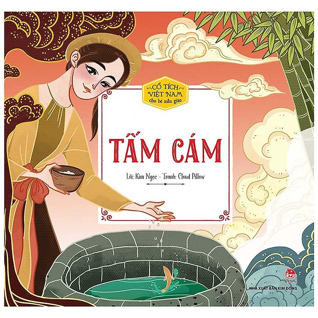 Sách - Truyện cổ tích Việt Nam cho bé mẫu giáo - Tấm Cám - NXB Kim Đồng  chính hãng 18,000đ