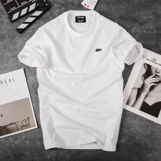 Áo thun LACOS thời trang nam chất liệu cotton 4 chiều xược