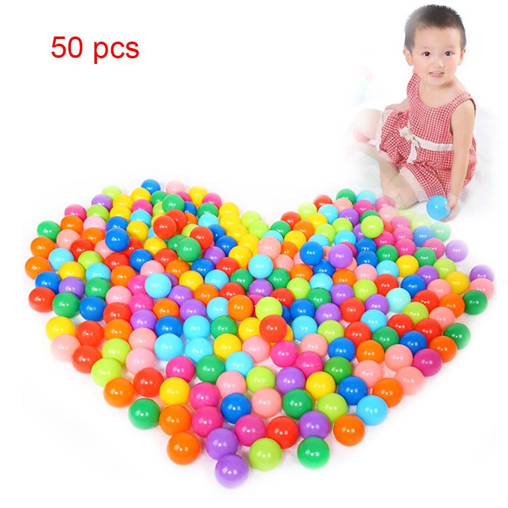 Colorful soft plastic ball Soft Plastic Ocean Ball Funny Baby Kid Swim Pit Toy 5.5cm/7.5cm