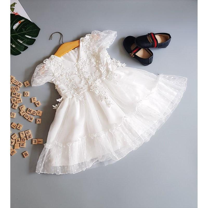 Váy Đầm Công Chúa Cho Bé Gái LYDOBB ❤FREESHIP❤ Hàng Công Ty Chất Đẹp, Dày Dặn, Cao Cấp Váy Đầm Bé Gái Dự Tiệc