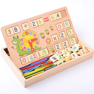 Bảng gỗ toán học thông minh
