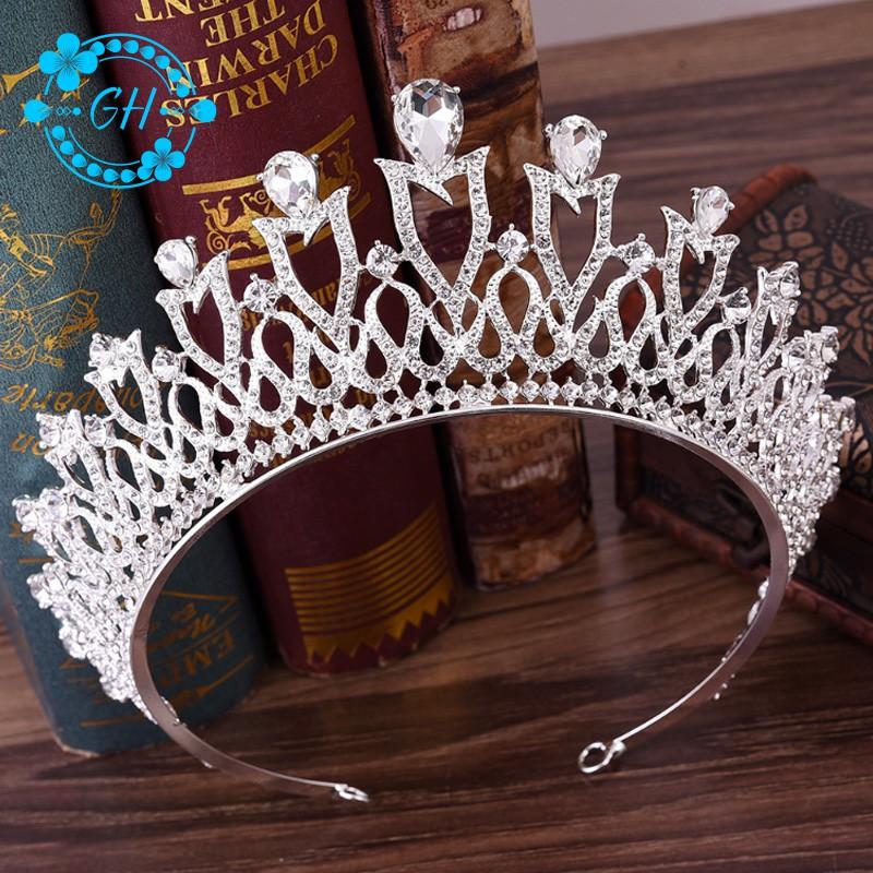 Baroque Crystal Bridal Headpiece Crown Princess Headband Wedding Hair Accessories - 14357763 , 2733815237 , 322_2733815237 , 215714 , Baroque-Crystal-Bridal-Headpiece-Crown-Princess-Headband-Wedding-Hair-Accessories-322_2733815237 , shopee.vn , Baroque Crystal Bridal Headpiece Crown Princess Headband Wedding Hair Accessories
