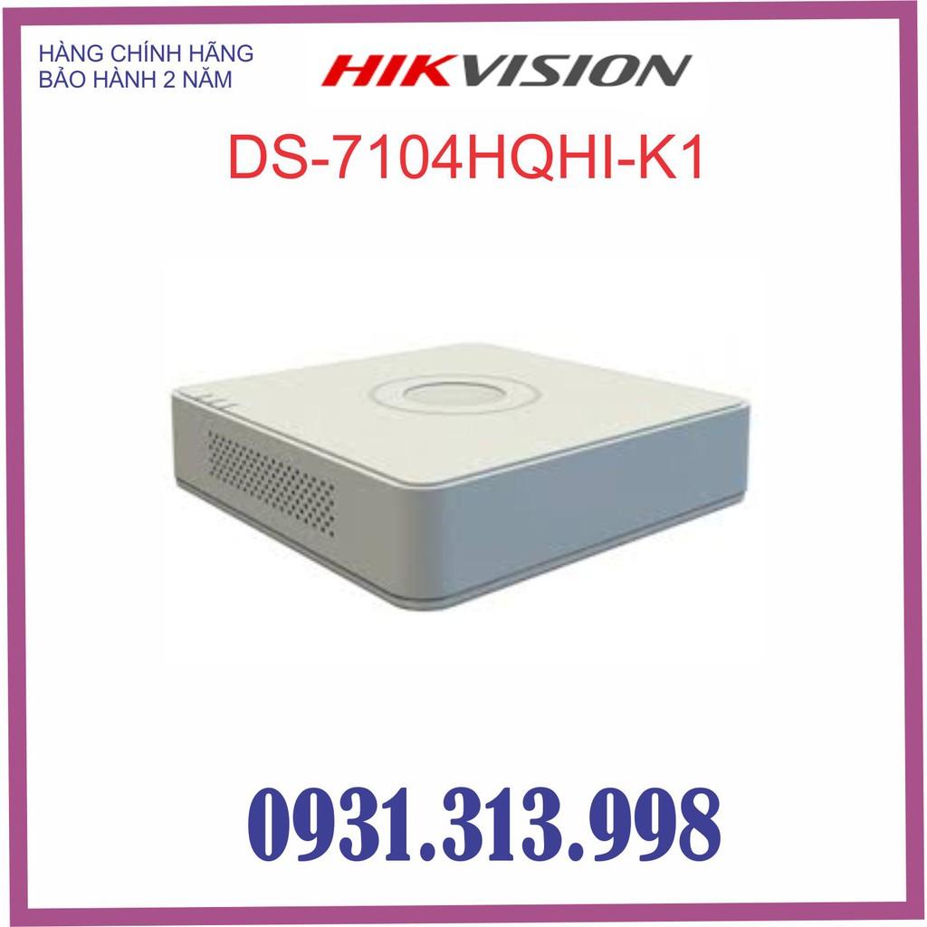 Đầu ghi hình HD-TVI 4 kênh HIKVISION DS-7104HQHI-K1 (S)