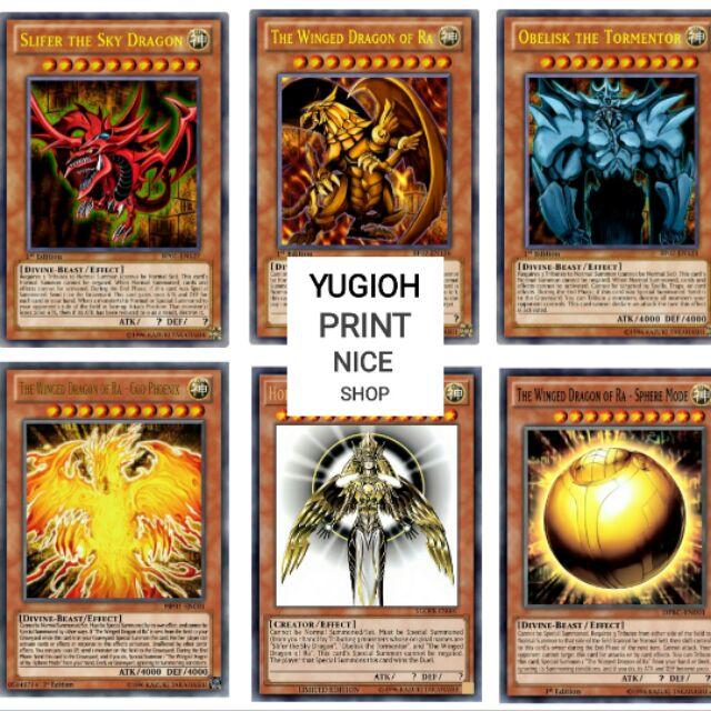 [BÀI IN] Bài YuGiOh – Bộ 54 lá bài của YuGi Muto