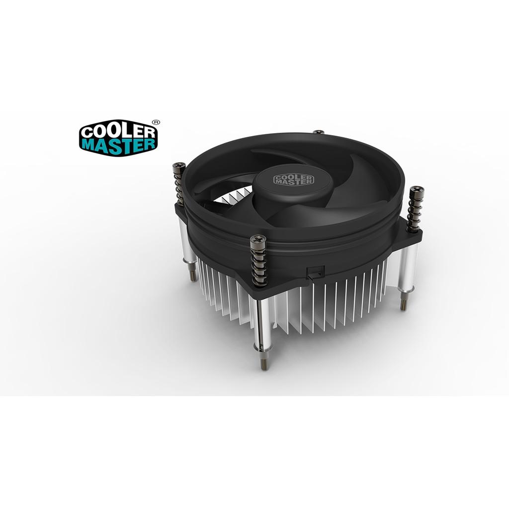 Quạt tản nhiệt cpu CoolerMaster I30 - socket 115x, sức gió lớn, quay êm - 3474425 , 765304501 , 322_765304501 , 98000 , Quat-tan-nhiet-cpu-CoolerMaster-I30-socket-115x-suc-gio-lon-quay-em-322_765304501 , shopee.vn , Quạt tản nhiệt cpu CoolerMaster I30 - socket 115x, sức gió lớn, quay êm