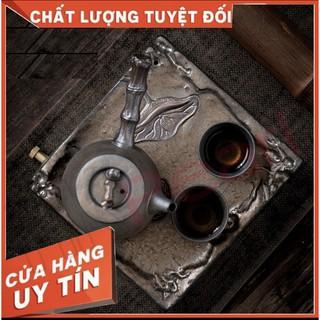 Bộ Đồ Trà Sưu tầm Kung Fu Cổ Điển Kiểu Nhật Thượng Nham Bộ Đồ Nhỏ Hai Cốc Pha Khô Gia Dụng Bộ Dụng Cụ Pha Trà 2 Người thumbnail